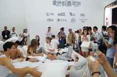2015 Porcelanowych międzynarodowych gatunek bielizny wystaw (Shenzhen) Obrazy Royalty Free