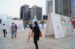2015 Porcelanowych międzynarodowych gatunek bielizny wystaw (Shenzhen) Fotografia Royalty Free