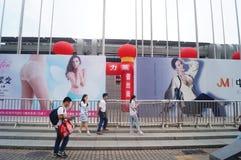 2015 Porcelanowych międzynarodowych gatunek bielizny wystaw (Shenzhen) Obraz Royalty Free