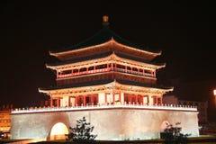 porcelany dzwonkowy wierza Xian Zdjęcia Royalty Free