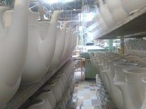 Porcelany fabryka Fotografia Stock