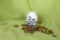 porcelany pudełkowata porcelanowa herbata Obrazy Stock