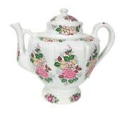 porcelany teapot Obraz Royalty Free