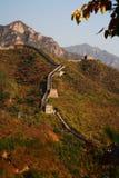 Porcellana della Grande Muraglia Fotografie Stock Libere da Diritti