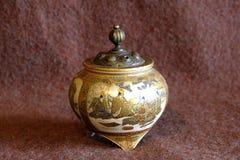 Porcellana della zuppiera Fotografie Stock