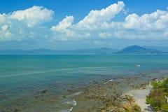 Porcellana di Hainan sanya del mare Fotografie Stock Libere da Diritti