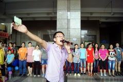 Porcellana di Shenzhen: attività di giorno della madre Fotografie Stock Libere da Diritti