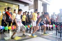 Porcellana di Shenzhen: attività di giorno della madre Immagini Stock Libere da Diritti