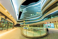 Porcellana moderna famosa di Œin del ¼ di SOHOï della galassia delle costruzioni del punto di riferimento di Pechino Fotografia Stock Libera da Diritti