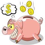 Porcellino del maiale Fotografie Stock Libere da Diritti
