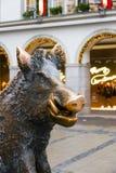 Porcellino-sculptur in München lizenzfreies stockbild