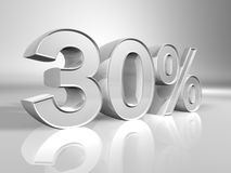 Porcentagem ilustração royalty free