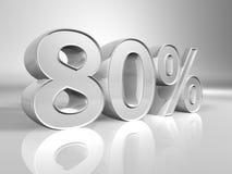 Porcentagem ilustração do vetor