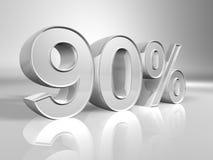 Porcentagem ilustração stock