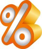 Porcentagem Fotografia de Stock
