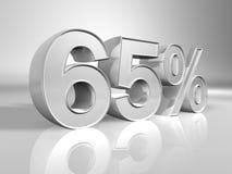 Porcentaje Foto de archivo libre de regalías