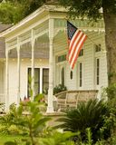 Porch. Mississippi Porch on the 4th of July Royalty Free Stock Photos