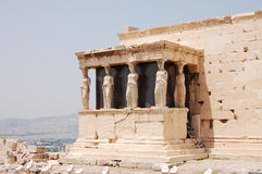 Porch of the Caryatids Stock Images