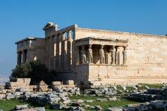 Porch of the Caryatids, Athens royalty free stock photos