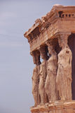 The Porch of the Caryatids at Erechtheion Athens Greece Stock Images