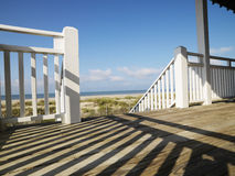 Porch at coast. Stock Image