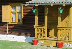 Porch decor option Stock Photo