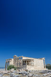 Porch of the Erechtheion wuth caryatids, Acropolis Royalty Free Stock Photo