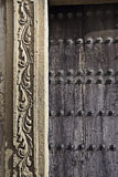 Porch with frieze Stock Photography