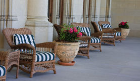 Porch Furniture Royalty Free Stock Photography
