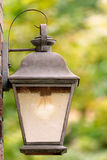 Porch light Stock Image