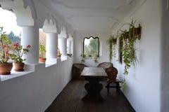 Porch of Maldaresti Cula Royalty Free Stock Photo