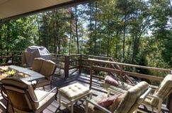 Porch in North Carolina Stock Image