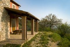 Porch Of A Farmhouse Stock Photography