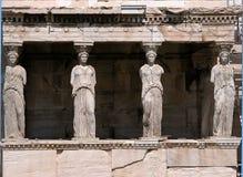 Porch Of Caryatid, Athens Parthenon Stock Photo