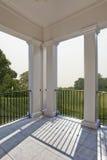 Porch overlooking golf course royalty free stock photos