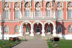 The Porch  The Petrovsky Palace Stock Photo