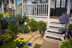 Porch Planters Stock Images