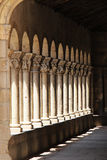 porch of a romanesque church, segovia Royalty Free Stock Images