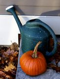 Porch Step in the Fall Royalty Free Stock Photo