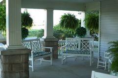 Porch View Royalty Free Stock Photography
