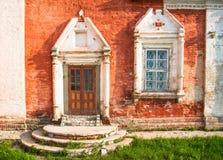 Porch and window Stock Photos