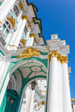 The porch of Winter Palace Royalty Free Stock Photos