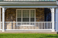 Free Porch With A White Railing Royalty Free Stock Photography - 41005447