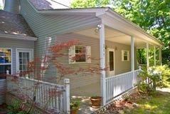 Porche/à la maison avant image stock