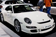 Porche 911 GT3 - côté - M/H Photos stock
