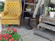 Porche avant Photographie stock