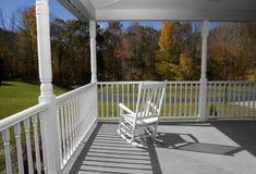 porche d'automne Photos stock