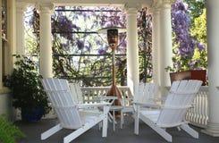 Porche de Chambre Images stock