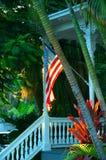 Porche de Key West image libre de droits