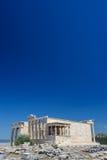 Porche des cariatides de wuth d'Erechtheion, Acropole photo libre de droits